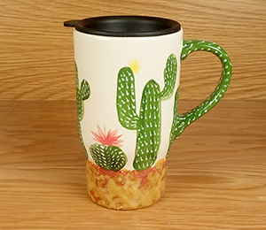 Mill Creek Cactus Travel Mug
