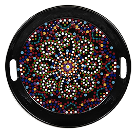 Mill Creek Mosaic Mandala Tray