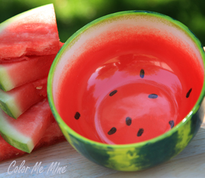 Mill Creek Watermelon Bowl